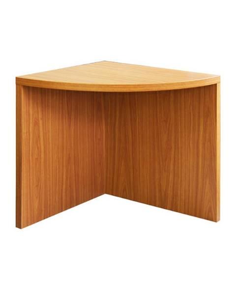 Tempo Kondela Rohový oblúkový stôl čerešňa americká OSCAR T5