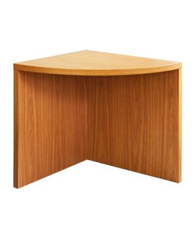 Rohový oblúkový stôl čerešňa americká OSCAR T5