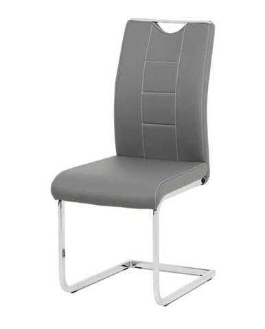 Jedálenská stolička ARABELA sivá