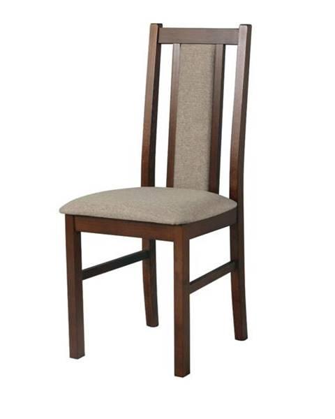 Sconto Jedálenská stolička BOLS 14 svetlohnedá