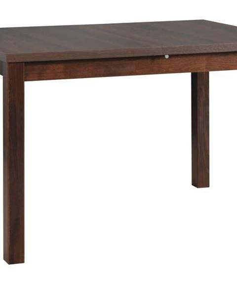 Sconto Jedálenský stôl MAXIM 5 tmavohnedá/orech