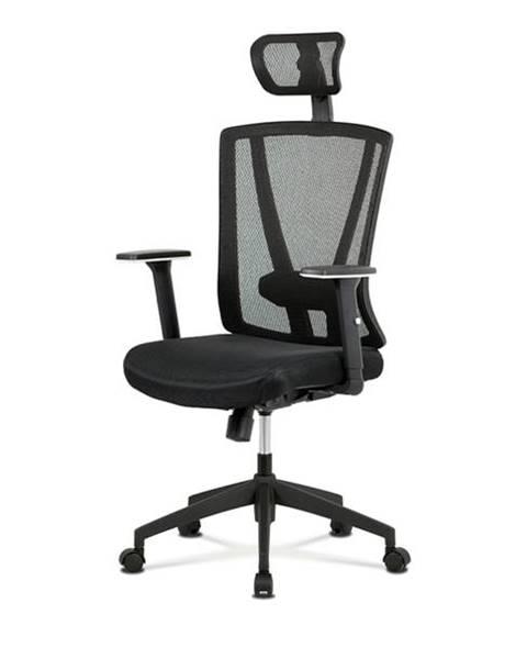 Sconto Kancelárska stolička EDWARD čierna