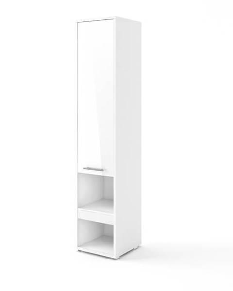 Sconto Skriňa CONCEPT PRO CP-07 1D biela matná, 1 dvierka, 1 zásuvka