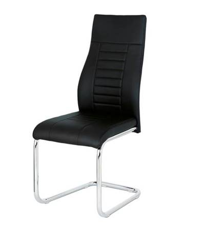 Jedálenská stolička ADRIENA čierna