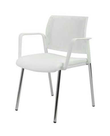 Konferenčná stolička KENTAUR biela