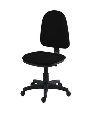 Otočná stolička ELKE čierna