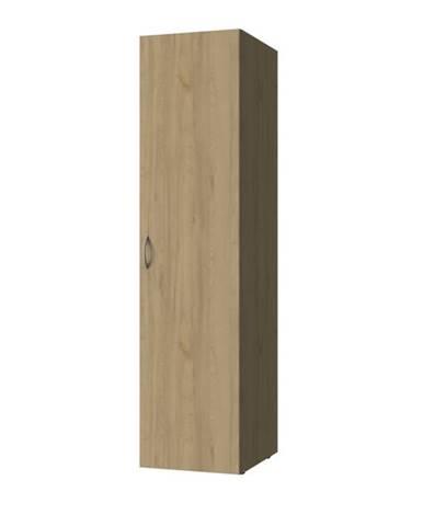 Viacúčelová skriňa MULTIRAUMKONZEPT 637, buk, 30 cm