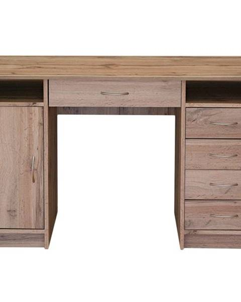 Sconto Písací stôl FILIP dub wotan