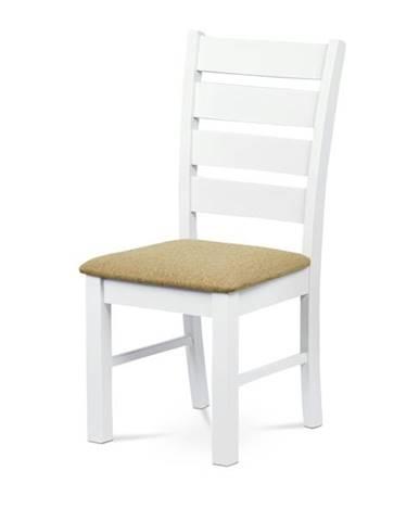 Jedálenská stolička MICHALA 1 biela