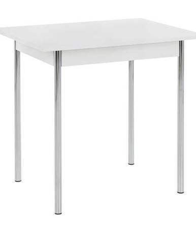 Jedálenský stôl KOELN II biela/chróm