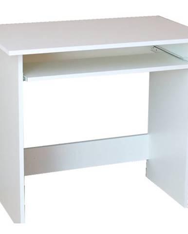 PC stôl ROMAN biela