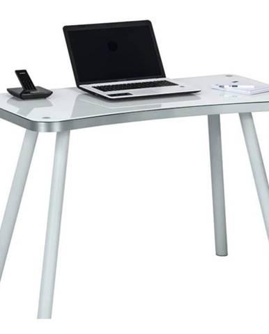 Písací stôl TILTON biela