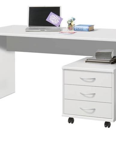 Písací stôl OPTIMUS 39-007 biela