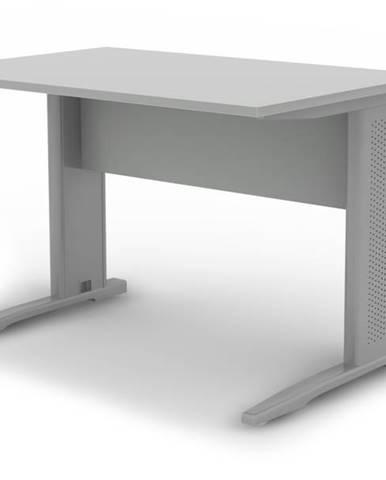 Písací stôl RIO sivá