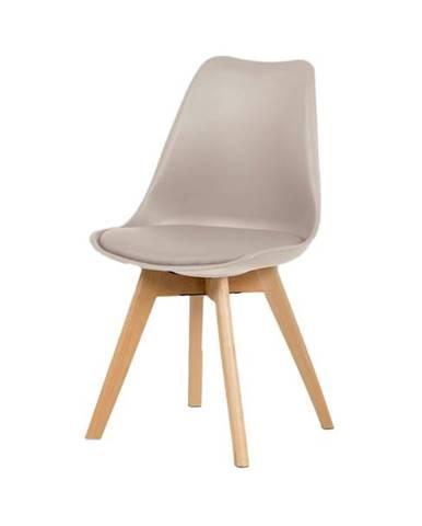 Jedálenská stolička JULIE béžová