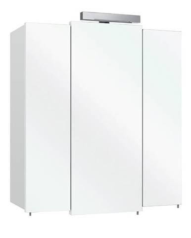 Zrkadlová skrinka WIESBADEN biela/zrkadlo