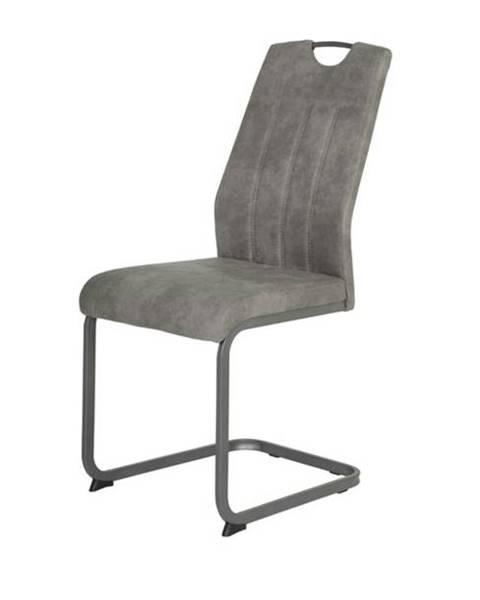 Sconto Jedálenská stolička CHRISTINA II sivá