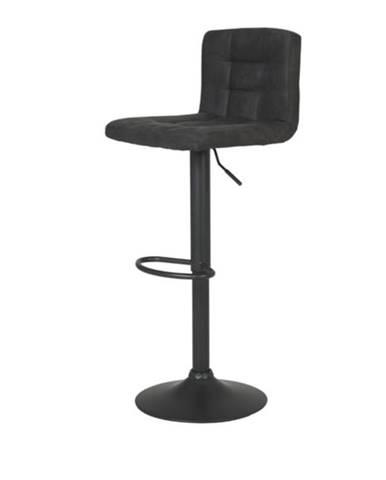 Barová stolička AMANDA antracitová
