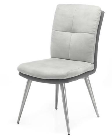 Jedálenská stolička EMILY sivá