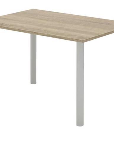 Písací stôl RIO 228 dub sonoma/sivá