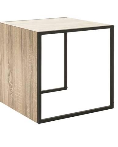 Prístavný stolík XANDRO doska stola 45 x 45 cm