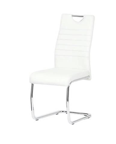 Jedálenská stolička BONNIE CAP biela