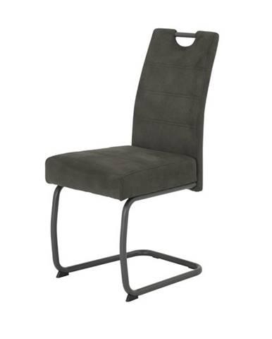 Jedálenská stolička FLORA VI S antracitová