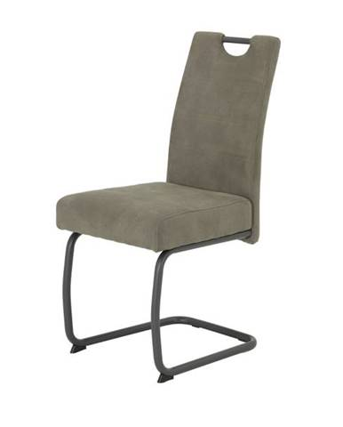 Jedálenská stolička FLORA VI S sivá