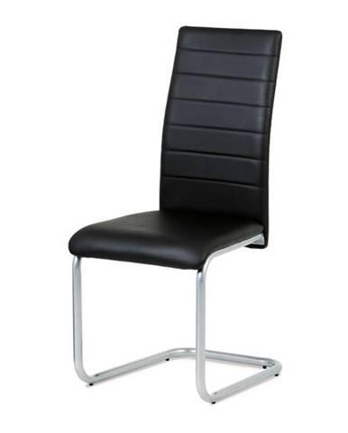 Jedálenská stolička LILY čierna