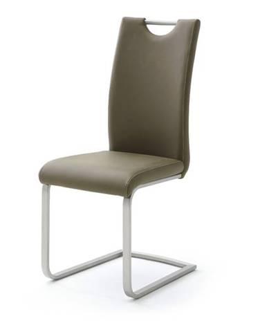 Jedálenská stolička PIPER hnedá