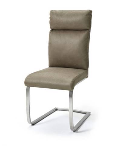Jedálenská stolička RILEY piesková