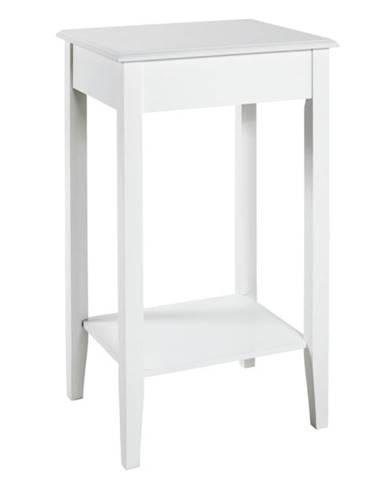 Prístavný stolík PROVENCE 2 biela