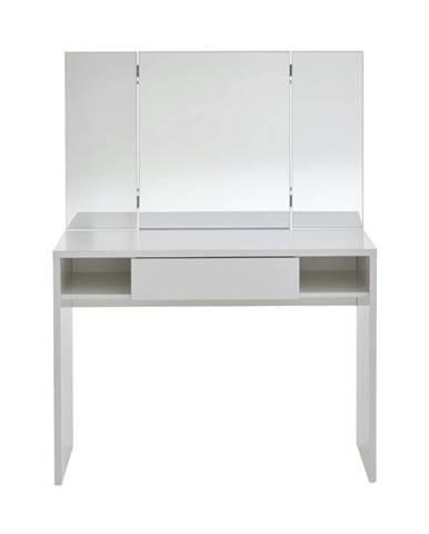 Toaletný stolík SCHMINKI biela
