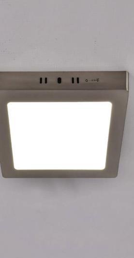 Stropná lampa Martin LED D 03278 18W 4000K Mat Chrome